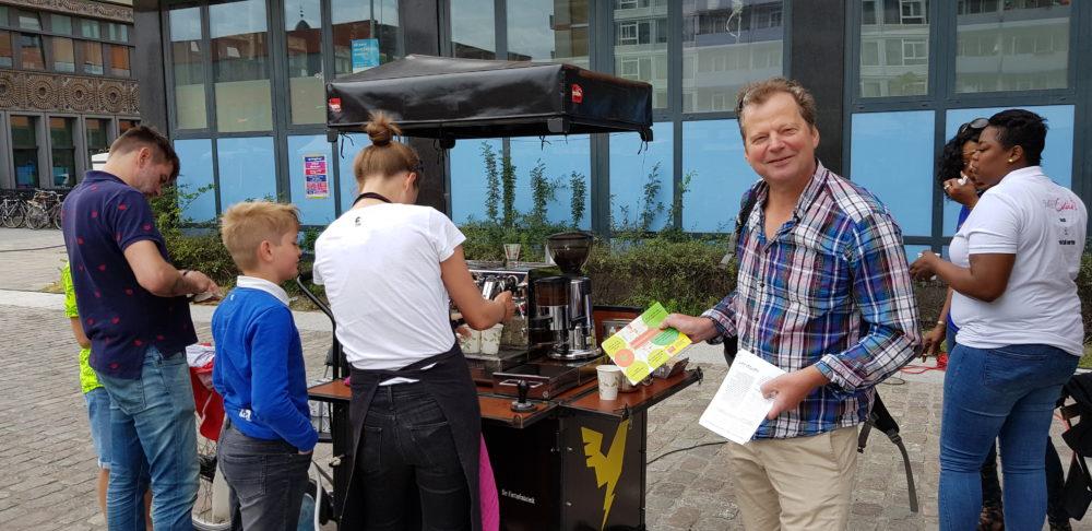 Vragenlijst Overtoomseveld en koffie natuurlijk!
